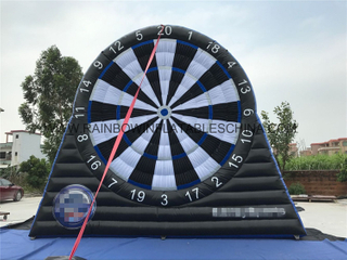 Famous Outdoor Commercial Inflatable Soccer Dart Board Game for Kids And Adults