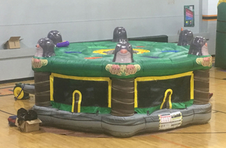 Indoor Commercial Inflatable Whack A Mole Game for Kids