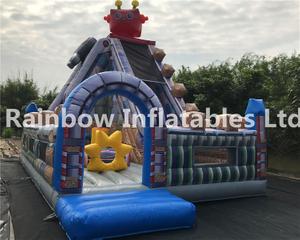 RB4121(8x5x7.2m) Inflatable robot funcity