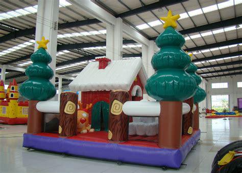 Christmas inflatable ice house