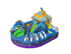 Inflatable Underwater World Funcity With Airship