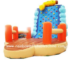 RB13016(5x5x5m)Inflatable Super Climbing Mountain/Wall 0.55mm thick good quality