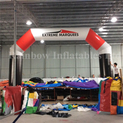RB21046(8x4mh)Inflatable finish line arch for sale