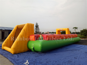 RB10004(12x6m)Inflatable Human Table Football Field/Pitch For Adult Outdoor Field