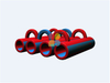 RB05209-3( 10x10x3M) Inflatables 5K Obstacles tunnel New design