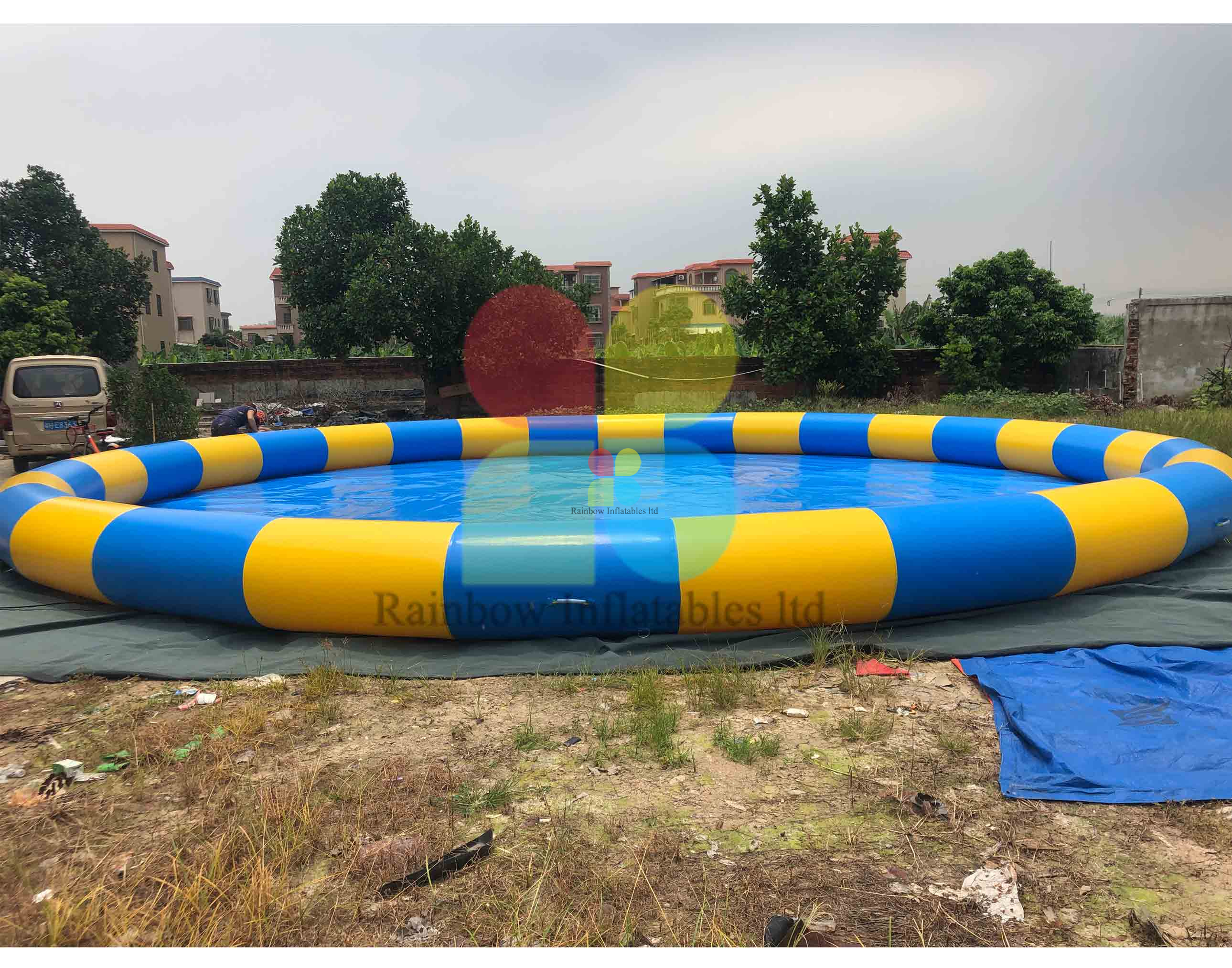 Hot Sale Inflatable Swimming Pool Giant Inflatable Pools for Kids Or Adults