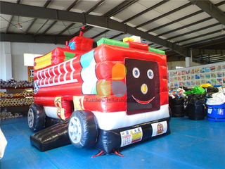 China New Design Inflatable Truck Bouncer Moonwalk