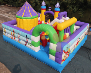 New Design Indoor Inflatable Games Theme Playground Funcity