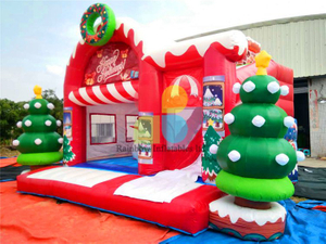 RB20028( 6x5m )Inflatables christmas tree castle for sale