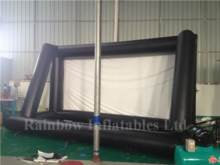 RB21034 (6.5x2.56x5m)Inflatable Rainbow advertising movie screen