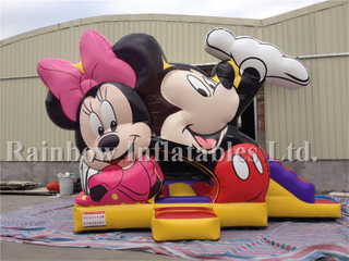 Outdoor Commercial Disney Inflatable Bouncers