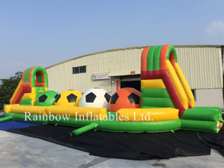 Inflatable interactive games outdoor running ball sport games