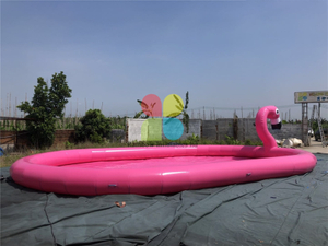 Inflatable Flamingo Pool