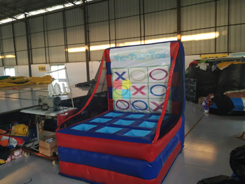 Inflatable Tic-Tac-Toe and Inflatable 4 Spot