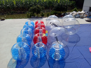 Half Color / Full Color Inflatable Bump Ball Human Water Bubble Ball Knocker Ball for Sale