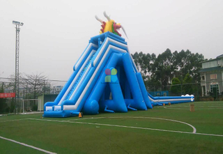 Huge Outdoor Inflatable Water High Slide for Adults And Kids