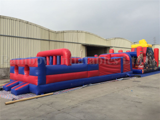 RB5043 (10x4x3.5m)Inflatable Commercial Obstacle Course With Factory Cheap Price