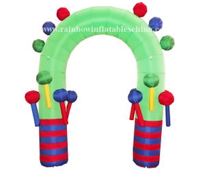 RB20003(2x3m) Inflatable Rainbow Arch for holiday