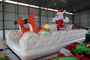 Inflatable Christmas Santa Deer