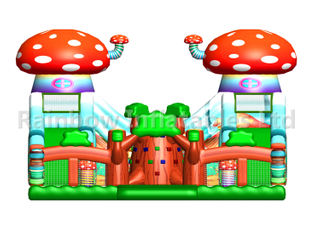 RB04128 (8x8x5m) Inflatable Mushroom forest playground/funcity new design