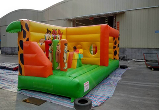 Best Outdoor Inflatable The Flintstones Theme Bounce Playground