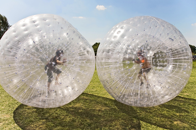 Zorb Ball Manual Operation