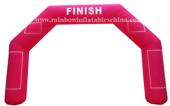 RB21032(8x5m)inflatable Personal customized logo advertisement arch tart finsh archway for sale