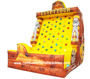 RB13015(5x4x6m)Inflatable Commercial climbing tower/inflatable climbing mountain/inflatable ladder climb