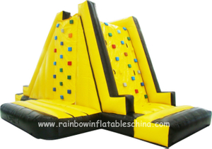 RB13024(9x3x4m)Inflatable Popular Climbing Mountain/Wall 0.55mm thick good quality
