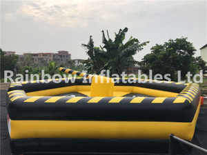 RB9124-1(dia 6.4m)Inflatables Large Funny Mechanical Bull Games