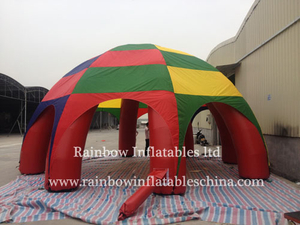 Big Commercial Inflatable Octopus Tent Portable Tent for Family