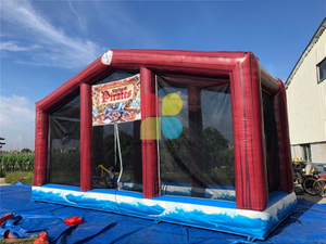 Inflatable Cannon Blaster Arena