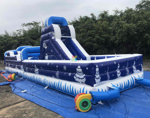 Winter Theme Inflatable Obstacle Course