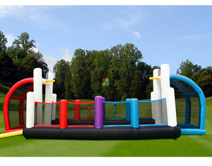 Inflatable Soccer Field for Team Building And Interactive Game