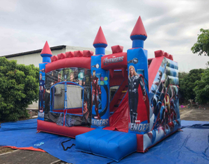China Cheap Inflatable Avengers Jumping Castle for Rental Hire