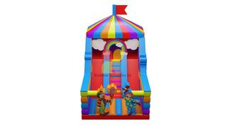 China Outdoor Indoor Inflatable Kids Playground Fun Fair Park Inflatable Amusement Park
