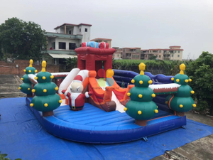 Inflatable Christmas Play Park