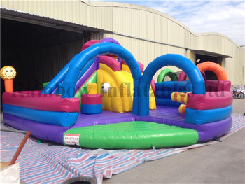 Outdoor Durable Mini Inflatable Playground for Sale