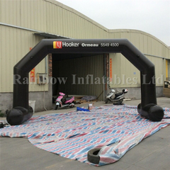 RB21027(9x4m) Inflatable Black Arch for Advertising for sale