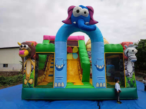 Inflatable Jungle Animal Zoo