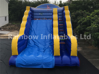 High Quality Inkjet Inflatables Marine Animal Theme Dry Slide for Sale