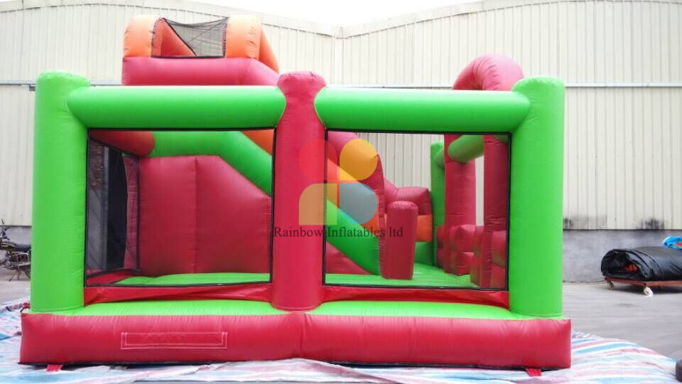 Inflatable Colorful Multiplay Fun Park with Slide