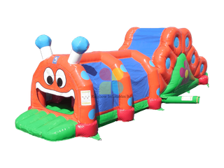 Caterpillar Crawls Inflatable Tunnel
