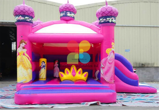 RB2016(6x4x4m)Inflatable Snow White princess bouncer for kids