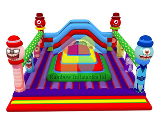 Rainbow Inflatable Soft Mountain Outdoor, Jungle Inflatable Mountain for Sale, Inflatable Mountain of Air