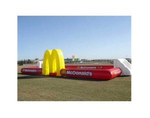 Inflatable Football Game Court for Backyard, Water Futsal Challenge, water soccer game, water football game