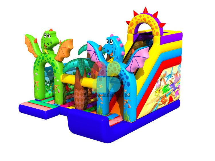 New Arrival Indoor Inflatable Desert Playground Funcity for Children