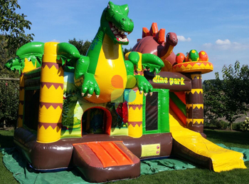 Hot Sale Inflatable Dragon And Dinosaur Combo for Park And Garden