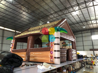 Hot Sale Outdoor Used Inflatable Ticket Booth Tent
