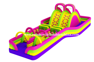 RB5013(12x8m)Inflatable Long Obstacle Training Race for sale